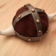 Download free STL file Viking Horned Helmet • 3D print object, daGHIZmo