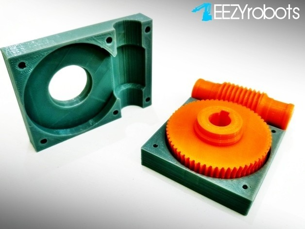 2eced21c008648e61a01f171d1921cac_preview_featured.jpg Download free STL file Worm gearbox 1:60 • 3D printable object, daGHIZmo