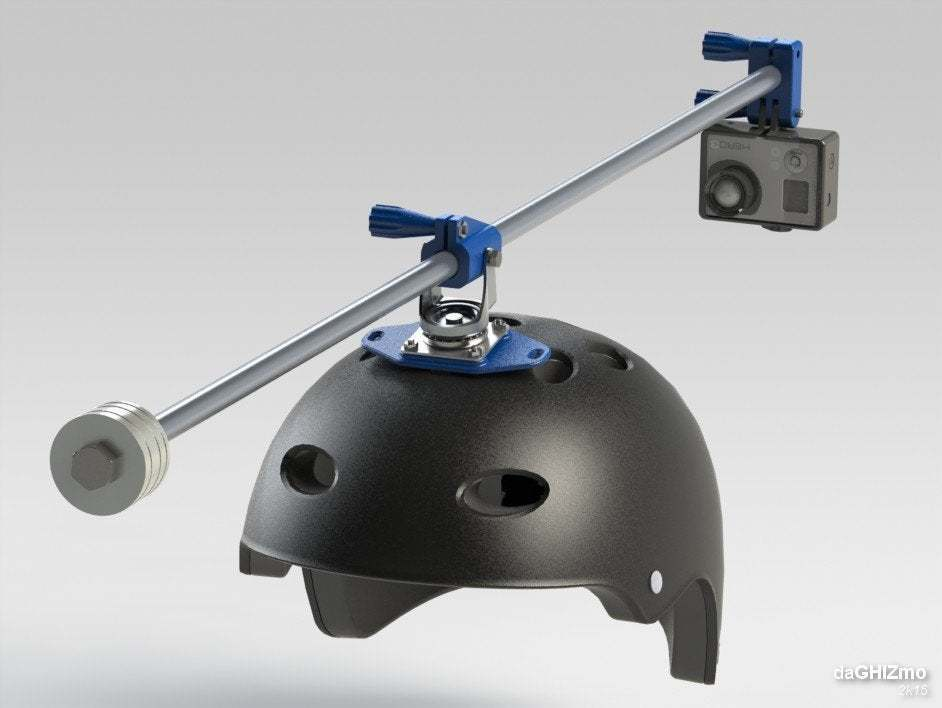 gopro_rotor_06.JPG Télécharger fichier STL gratuit GoPro 360 Support de rotor • Objet pour impression 3D, daGHIZmo