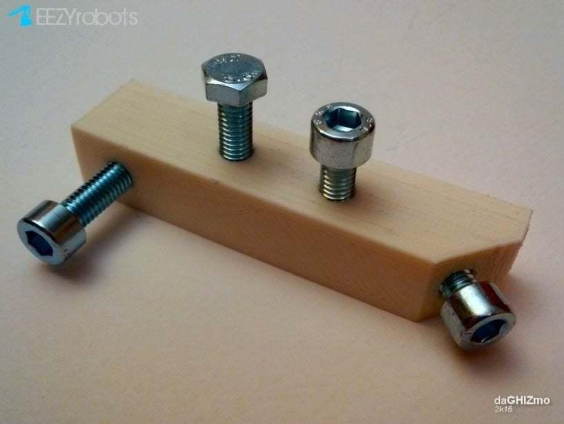 captive_01_.jpg Télécharger fichier STL gratuit Test CAPTIVE NUTS • Design imprimable en 3D, daGHIZmo