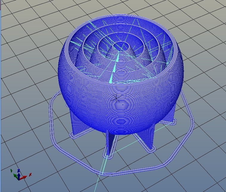 bball_05.png Download free STL file simply a ball • 3D printing model, daGHIZmo