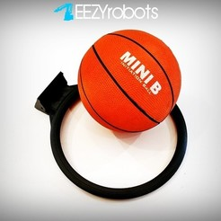 MMF_013.jpg Download free STL file MINI BBALL HOOP • Model to 3D print, daGHIZmo