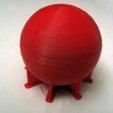 bball_02.png Download free STL file simply a ball • 3D printing model, daGHIZmo