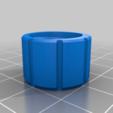 PRESS_CAP_1.75.png Télécharger fichier STL gratuit Adaptateur Bowden • Plan imprimable en 3D, daGHIZmo