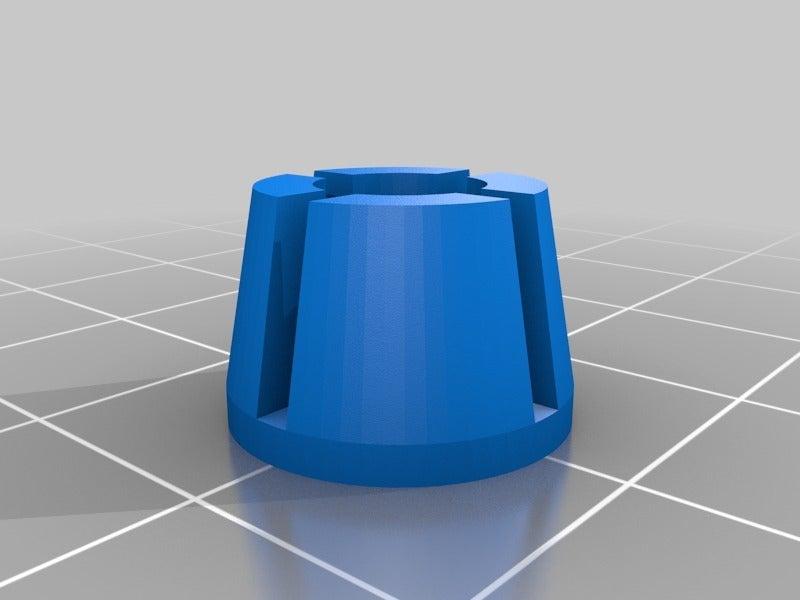 WEDGE.png Télécharger fichier STL gratuit Adaptateur Bowden • Plan imprimable en 3D, daGHIZmo