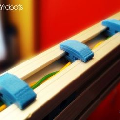 CLIPS020.jpg Download free STL file CABLE CLIPS • Template to 3D print, daGHIZmo