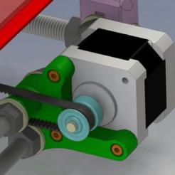 Descargar modelos 3D gratis Y Motor Monte Prusa i3, daGHIZmo