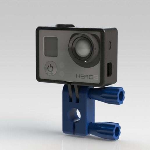 gopro_rotor_09.JPG Télécharger fichier STL gratuit GoPro 360 Support de rotor • Objet pour impression 3D, daGHIZmo