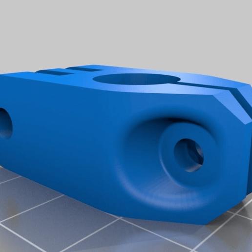 12mm_mount_clamp.png Télécharger fichier STL gratuit GoPro 360 Support de rotor • Objet pour impression 3D, daGHIZmo
