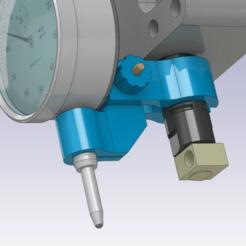 Télécharger objet 3D gratuit Support du comparateur à cadran, daGHIZmo