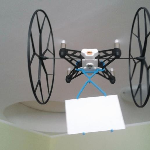 CARGO_HOOK_01.png Download free STL file Cargo hook for Parrot Rolling Spider • 3D printer design, daGHIZmo