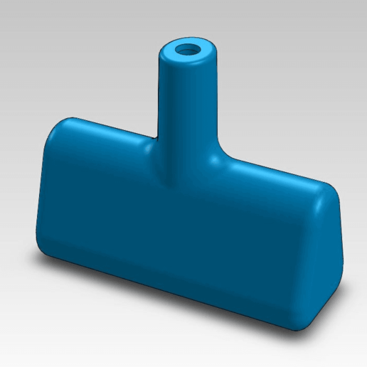 Download free STL file starter handle for lawnmower • Model to 3D print, daGHIZmo