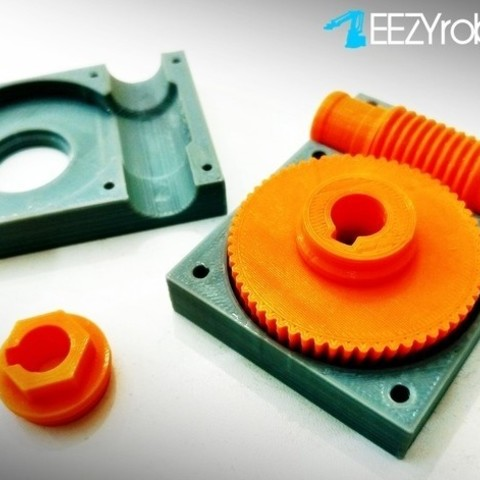 407b9174b79d15ad06cb2e6bd422e167_preview_featured.jpg Download free STL file Worm gearbox 1:60 • 3D printable object, daGHIZmo