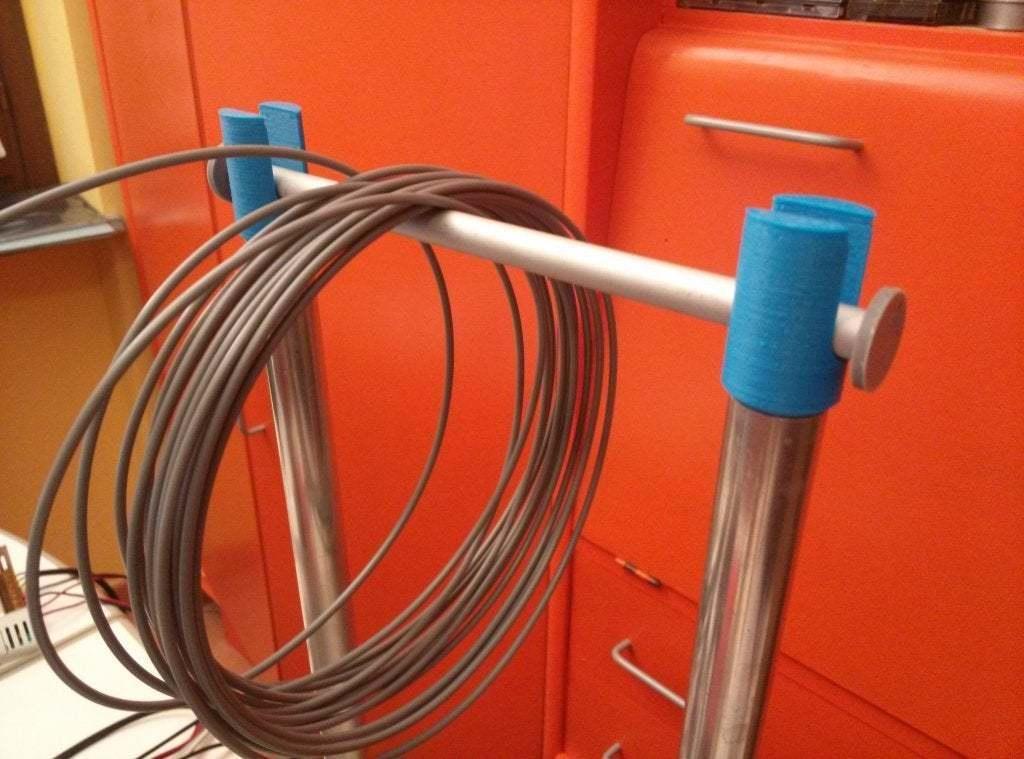 SPOOL_HOLDER.jpg Télécharger fichier STL gratuit YASH Oui Un autre détenteur de bobine • Design pour imprimante 3D, daGHIZmo