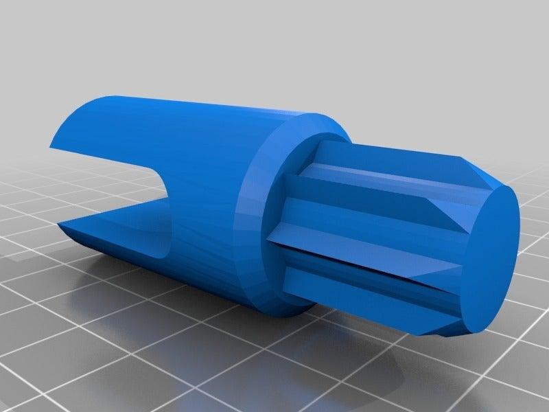 HOLDER.png Télécharger fichier STL gratuit YASH Oui Un autre détenteur de bobine • Design pour imprimante 3D, daGHIZmo