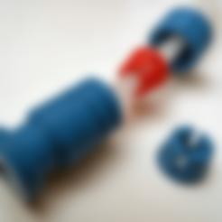 PRESS_CAP.STL Télécharger fichier STL gratuit Adaptateur Bowden • Plan imprimable en 3D, daGHIZmo