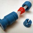 BW_adapter_06.png Télécharger fichier STL gratuit Adaptateur Bowden • Plan imprimable en 3D, daGHIZmo
