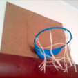 bhoop_02.png Download free STL file mini basketball hoop • 3D printer object, daGHIZmo
