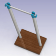 SPOOL_HOLDER_00.png Télécharger fichier STL gratuit YASH Oui Un autre détenteur de bobine • Design pour imprimante 3D, daGHIZmo