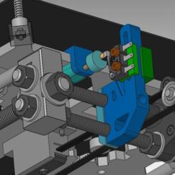 y_endstop_2_06.png Download free STL file adjustable Y Endstop Prusai3 • 3D printing template, daGHIZmo