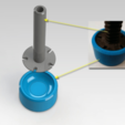 Download free STL file Levelling feet risers for a Bosch dishwasher • Object to 3D print, daGHIZmo