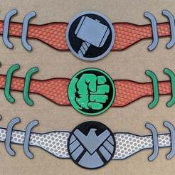 IMG_20200812_172414_-_Copy.jpg Télécharger fichier 3MF gratuit Thor, Hulk et S.H.I.E.L.D. Économiseurs d'oreilles • Modèle pour impression 3D, feanorgem