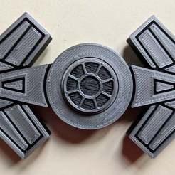 IMG_20200714_135236_-_Copy.jpg Télécharger fichier 3MF gratuit Tie Fighter Spinner • Plan imprimable en 3D, feanorgem
