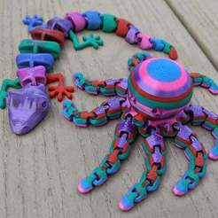 IMG_20200716_101419_-_Copy.jpg Download free 3MF file Colored Octopus and Lizard • 3D printable object, feanorgem