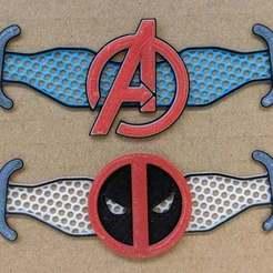 IMG_20200812_171004_-_Copy.jpg Télécharger fichier 3MF gratuit Deadpool et Avengers Économiseurs d'oreilles • Plan pour imprimante 3D, feanorgem