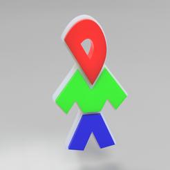dmadesign2.png Télécharger fichier STL gratuit Logo du design du DMA • Objet à imprimer en 3D, vogel