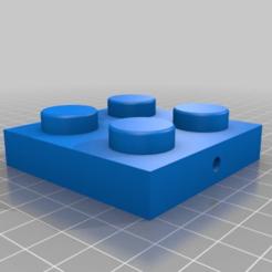 b2681d6ac71eca080c871119af6f1019.png Télécharger fichier STL gratuit Lego géant Espace Vintage 886 Plaques avec trou • Design imprimable en 3D, vogel