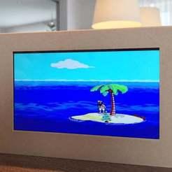 IMG_6677.JPG Télécharger fichier STL gratuit Economiseur d'écran autonome Johnny Castaway • Objet à imprimer en 3D, vogel