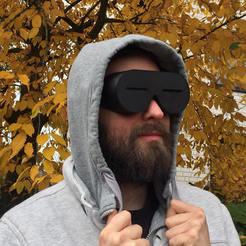 full.jpg Download free STL file old-school eskimo snow goggles • 3D print object, vogel