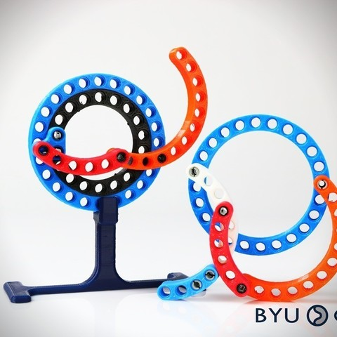 Free 3D model CurvedLinks: Large size circular links (LEGO Compatible), byucmr