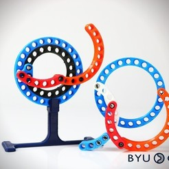 Download free 3D printer model CurvedLinks: Large size circular links (LEGO Compatible), byucmr
