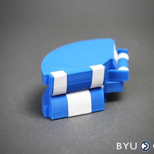 SORCEblue2.jpg Download free STL file SORCE Origami vertex • 3D printer design, byucmr