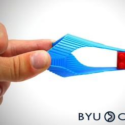 Free 3D printer designs Oriceps: Origami Inspired Forceps, byucmr