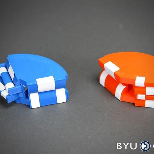 SORCEboth.jpg Download free STL file SORCE Origami vertex • 3D printer design, byucmr