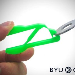 Download free 3D printer files Fully Compliant Pliers, byucmr