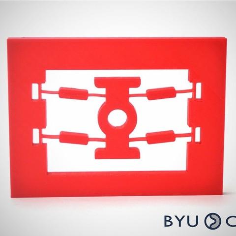 Fichier impression 3D gratuit Mécanisme bistable, byucmr