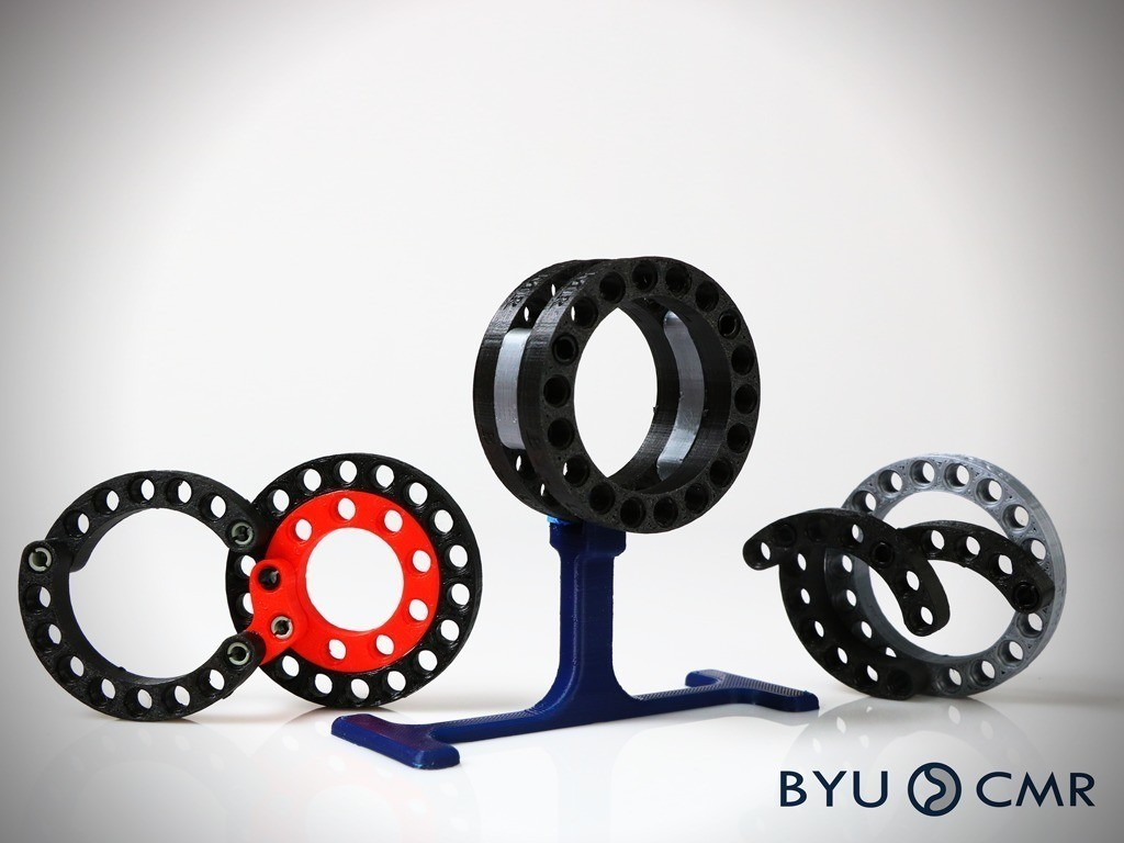 fc396c4c1f69b97e77181c59e786258e_display_large.jpg Download free STL file CurvedLinks: Medium size circular links (LEGO Compatible) • 3D print template, byucmr