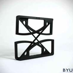 IMG_7440.jpg Download free STL file Cross-Axis Flexure Pivot • 3D printing object, byucmr