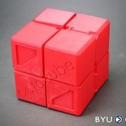 Octocube3.jpg Download free STL file OctoCube • 3D printable design, byucmr