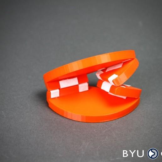 SORCEorange.jpg Download free STL file SORCE Origami vertex • 3D printer design, byucmr
