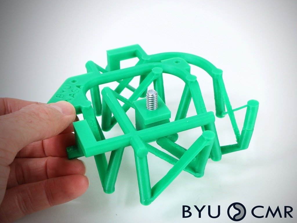 0a8b6dfae3cfe360020b81004b4877c7_display_large.jpg Download free STL file 2 DOF fully compliant space pointing mechanism • 3D printing design, byucmr