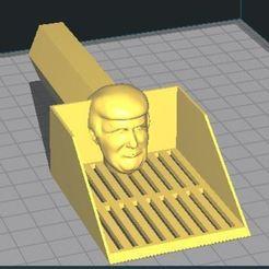 TrumpPooperScooper.JPG Download STL file TrumpPooperScooper • 3D printer object, koibuff