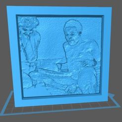 Descargar modelos 3D para imprimir Lithophane Tribute to - Long Dong Silver, koibuff