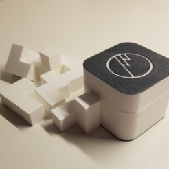 3D print files SomaCube - puzzle, WilliamStadheim