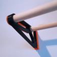 Download 3D model Filament Spoolholder/shelf (storage), WilliamStadheim