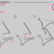 Download free 3D printing templates Tensegrity structure - screw assembly, WilliamStadheim